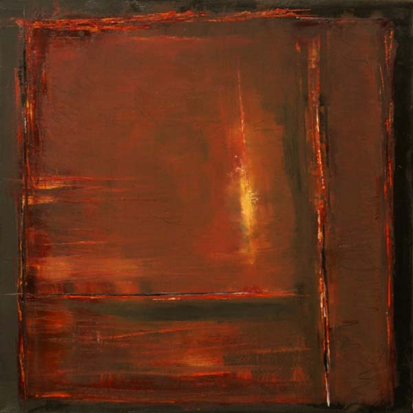 Anita Lewis   Iron 24x24   Oil
