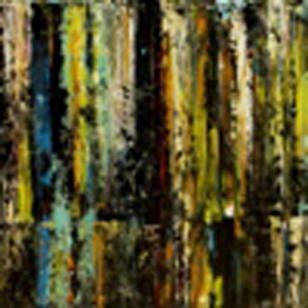 Anita Lewis   RainForest   Diptych   36x72   Oil