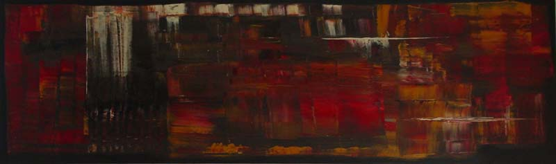 Anita Lewis   UmbriaTrinity Center   12x64   Oil