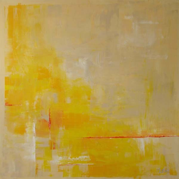 Anita Lewis   Yellow Morning   36x36   Oil