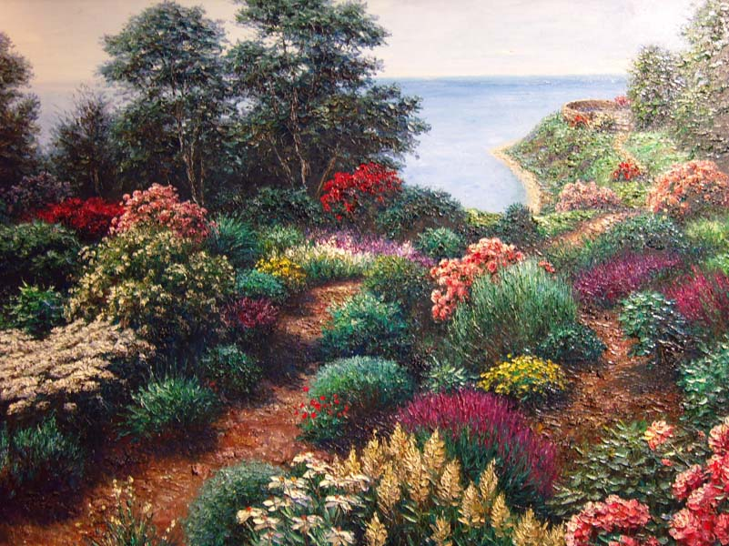 Henry Peters   Fayette Overlook   36x48 Oil On Canvas