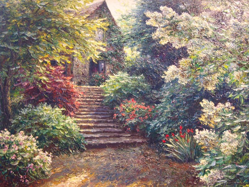 Henry Peters   Montgomery Cottage   30x40 Oil On Canvas