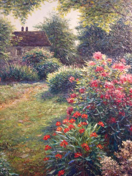 Henry Peters   Sardaway Gardens   30x40 Oil On Canvas