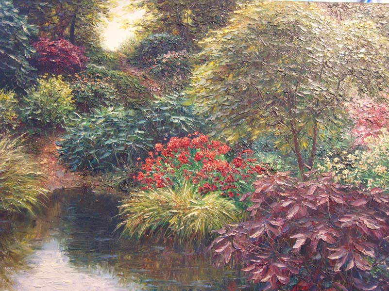 Henry Peters   Sheridan Springs   30x40 Oil On Canvas