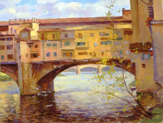 River Arno Florence 27x35cm 2007