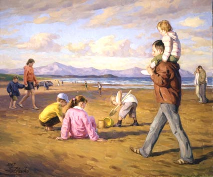 Scene From The Beach