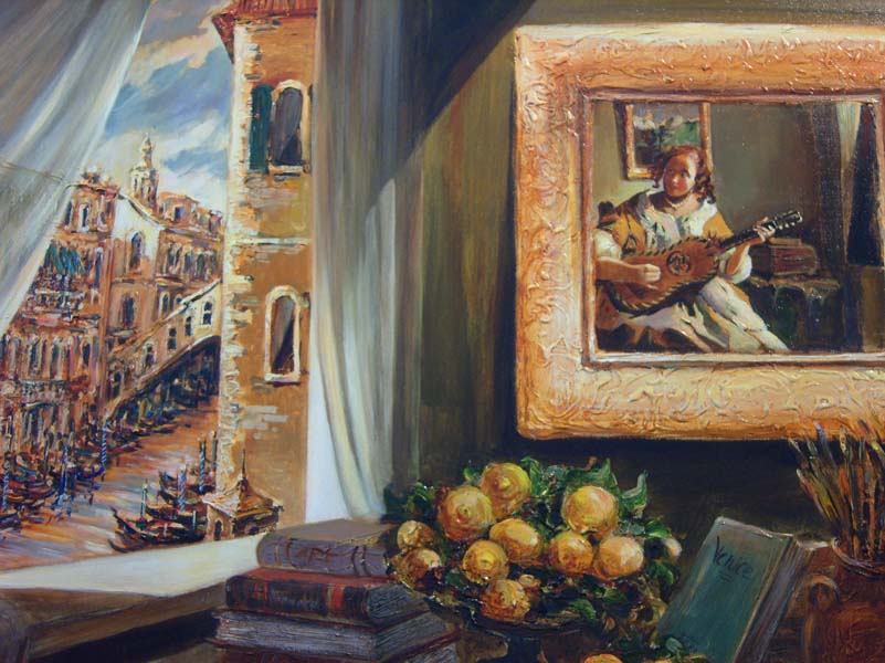 Tatiana Rhinevault   Italian Opulence 30x40 Oil On Canvas