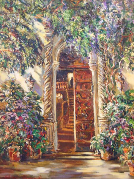Tatiana Rhinevault   Mokocan Doorway 24x30 Oil On Canvas