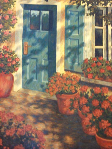 Tony Magner   Doorway   24x30 Oil On Canvas