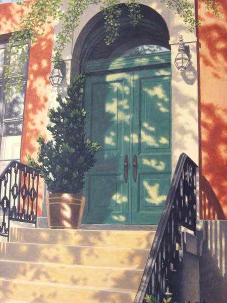 Tony Magner   Greenwich Village   20x30 Oil On Canvas