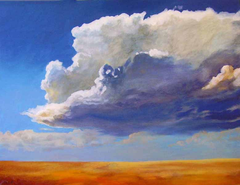Craig Gould   Majesty Of The Plains   Photorealism (oil On Canvas)