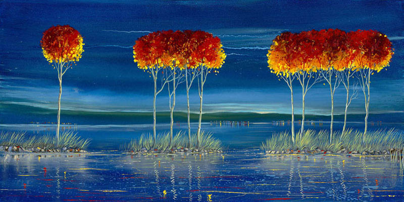 Ford Smith   Silent Embrace 24x48 Acrylic