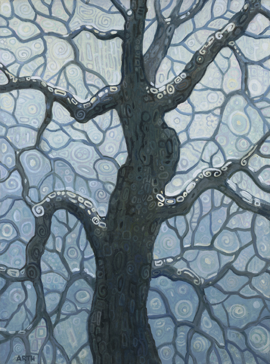 Gregory Arth   Winter 2008 40x30 Oil