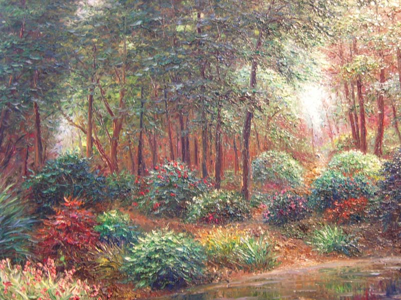 Henry Peters   Yorkshire Forest   30x40 Oil On Canvas