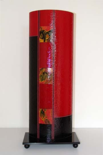 Laura Thompson   BS 201   10x25x6 Cold Worked Glass