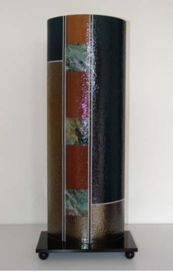 Laura Thompson   BS 202   10x25x6 Cold Worked Glass