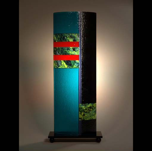 Laura Thompson   BS 203   10x25x6 Cold Worked Glass
