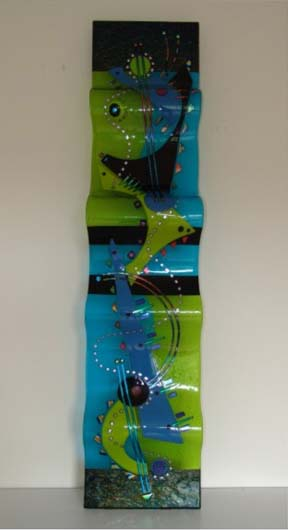 Laura Thompson   RW12 011   12x54 Cold Worked Glass