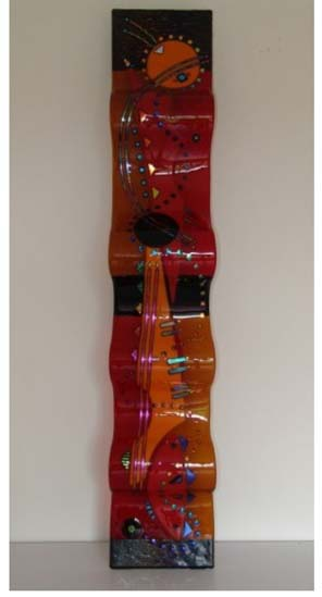 Laura Thompson   RW8 05   8x44 Cold Worked Glass