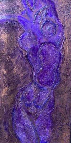 Randy Jacobs   There She Is   48x24   Acrylic Mixed Media