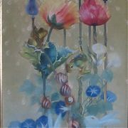 1139 Flower Juice, 51x26, Canvas, Oil,