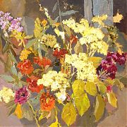 2004 – Autumn Bouquet, Canvas, Oil, 28x28